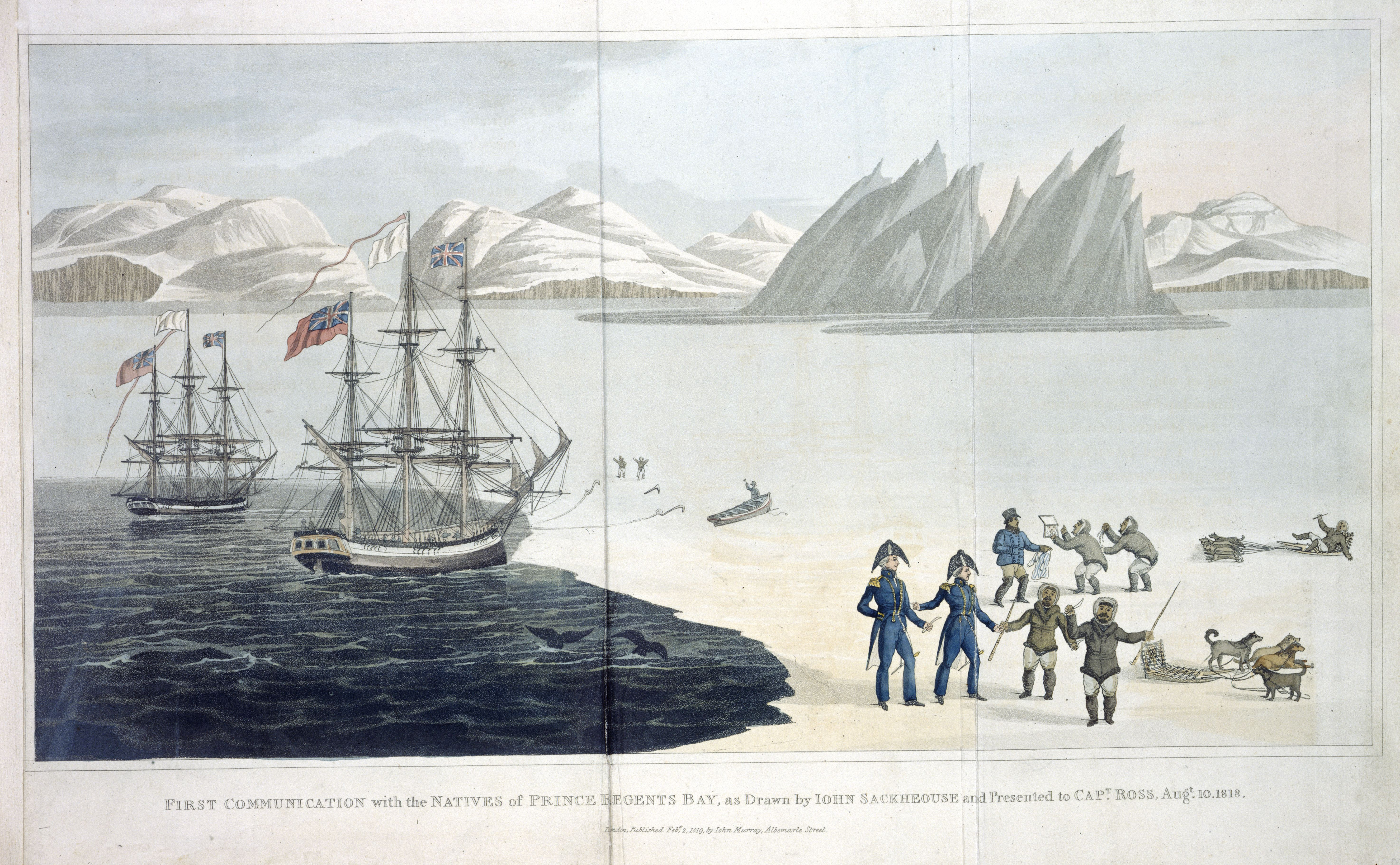 perspectives on the passage encountering the explorers american