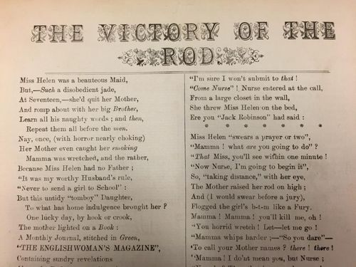 Poem The Victory of the Rod