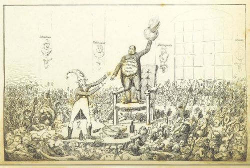 Cartoon of Middlesex Election 1802