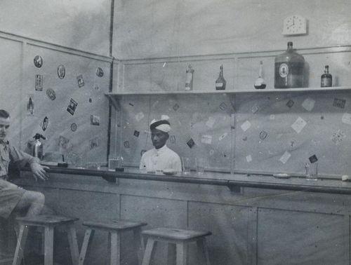 The bar at Sharjah Aerodrome
