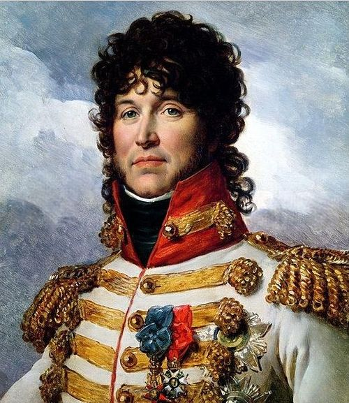 Portrait of General Murat in military uniform