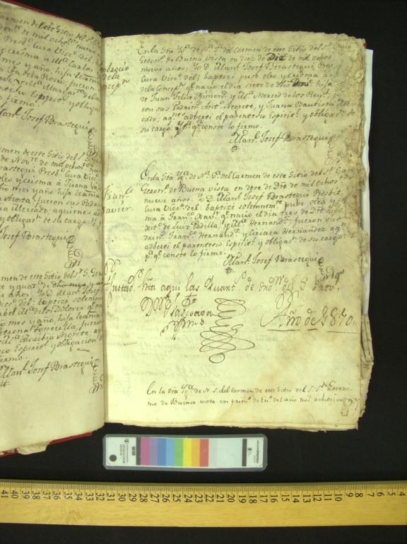 Page of manuscript
