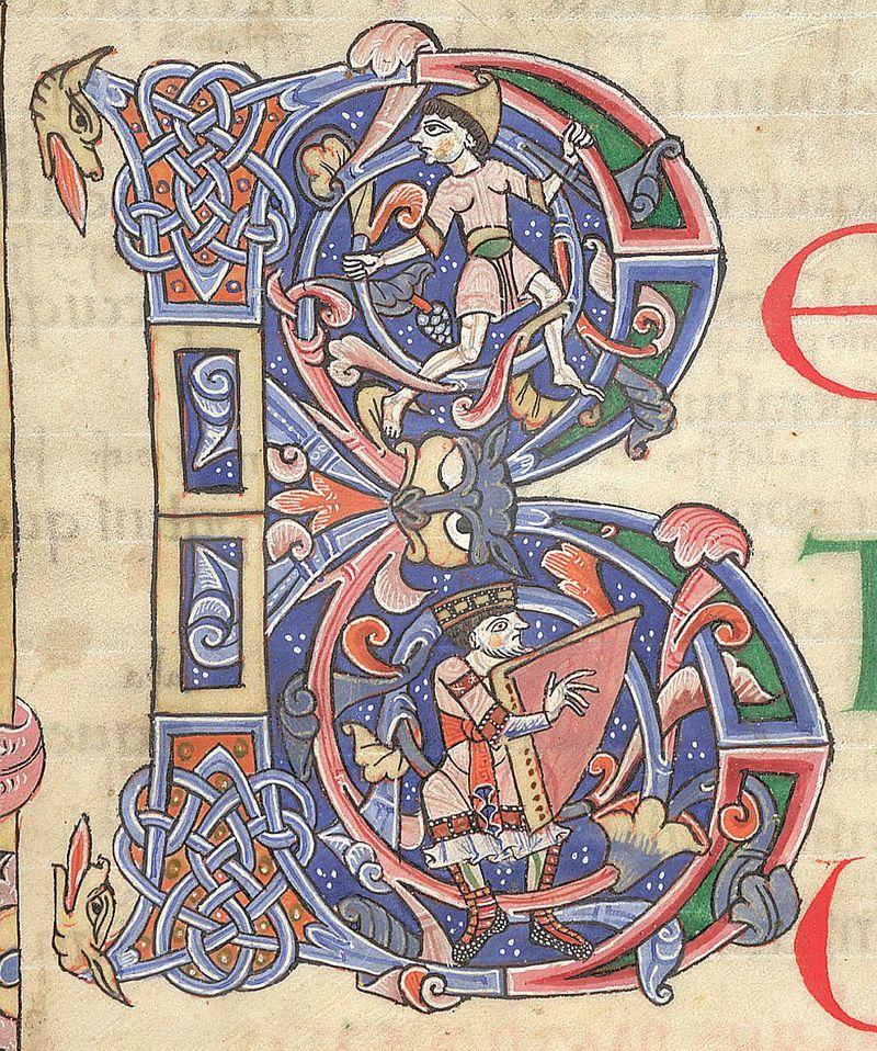 Detail of Arundel 60 f 13