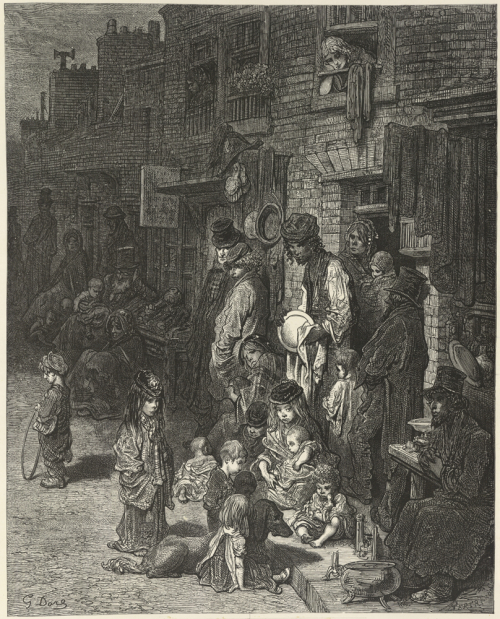 Dore illustration of the London poor