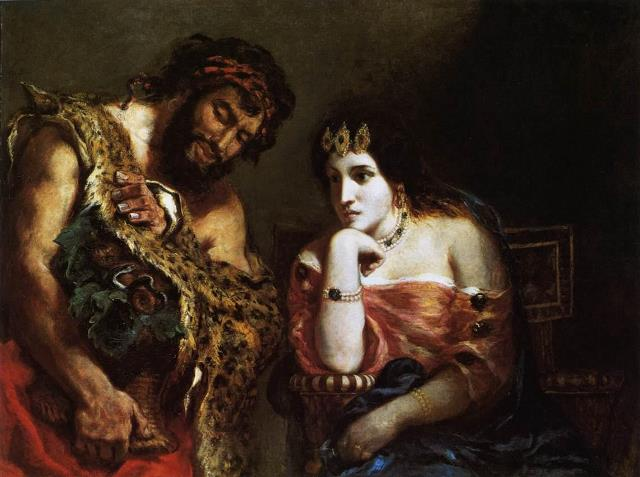 Delacroix 2 Cleopatra