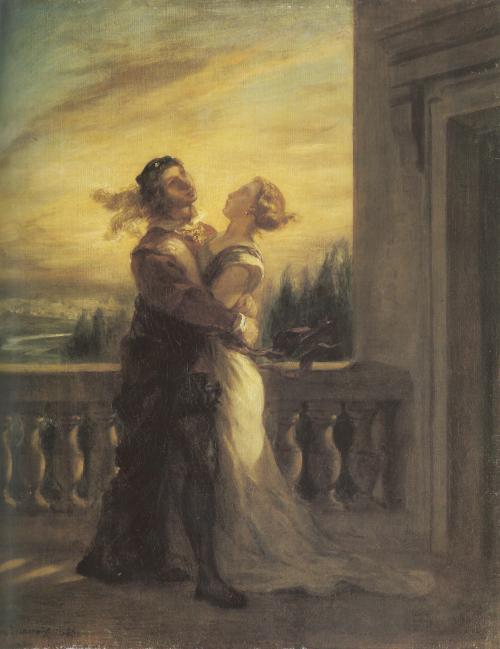 Delacroix Romeo & Juliet