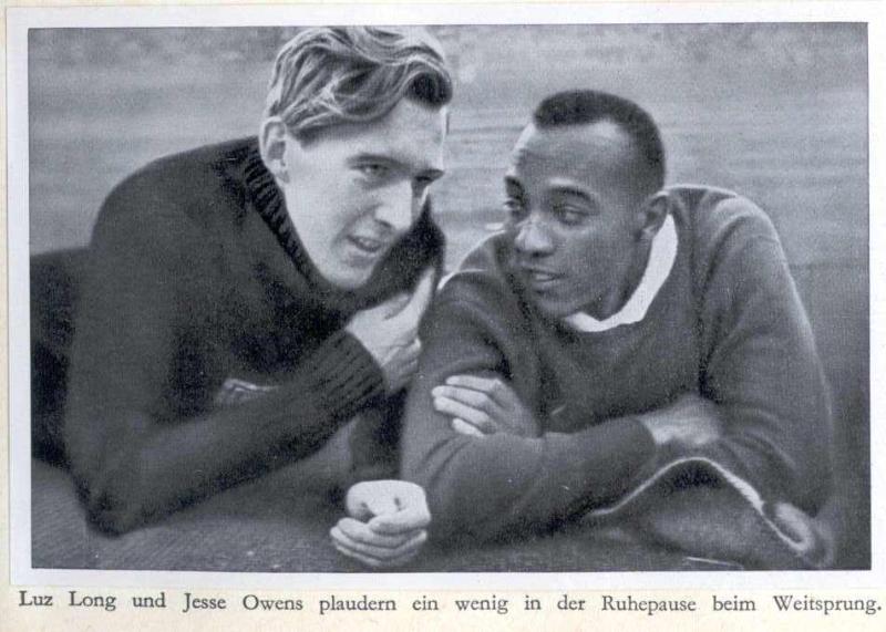 Olympia 1936 Owens & Long