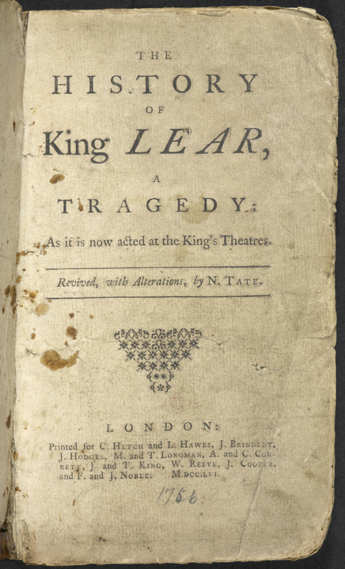 term papers on king lear