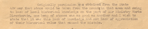 Extract of a letter from the Air Liaison Officer to the Political Agent at Bahrain, 23 May 1945