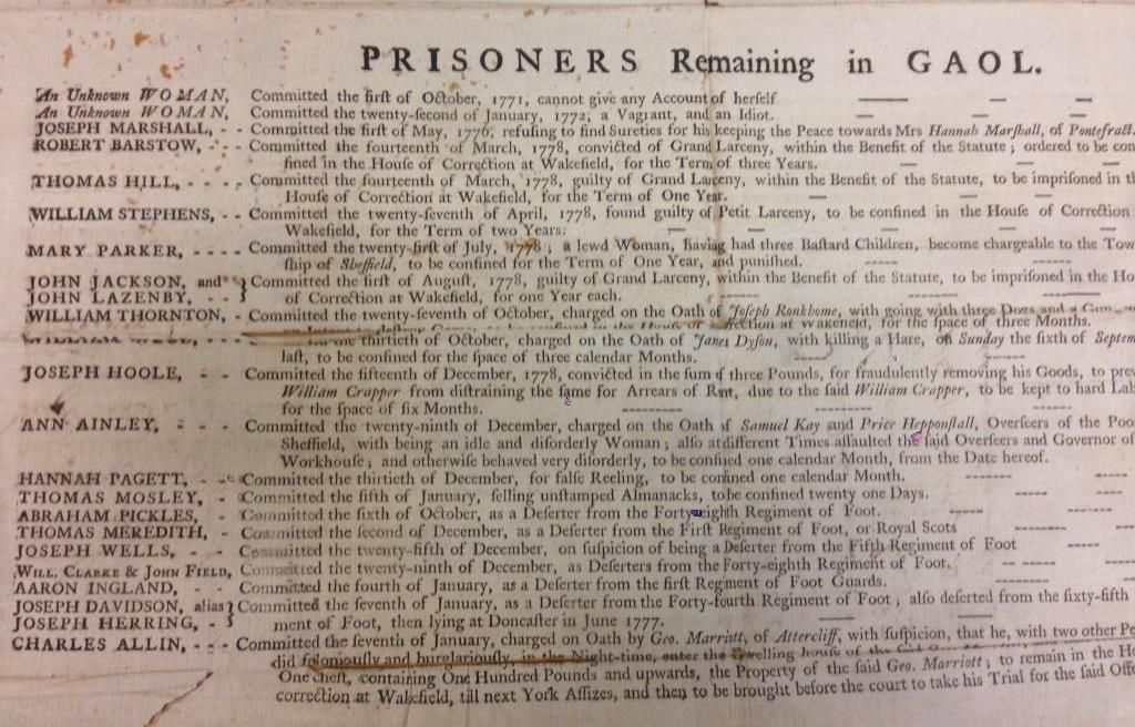 Female Felons in the 18th Century - Untold lives blog
