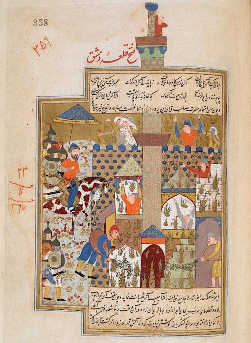 Timur defeats Damascus