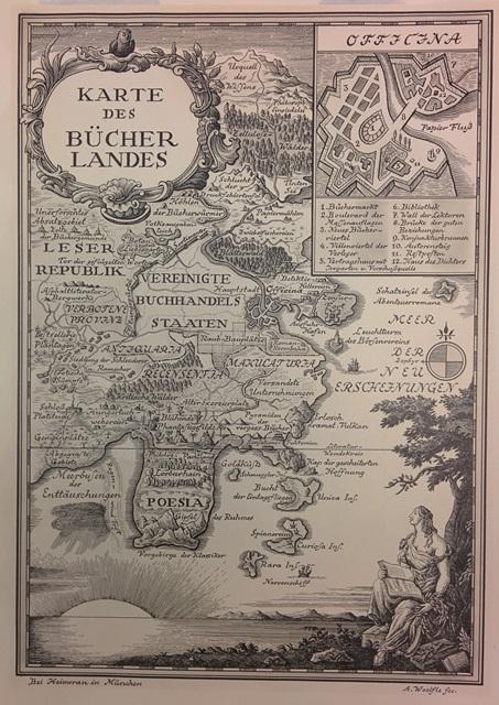 1 Karte des Bücherlandes