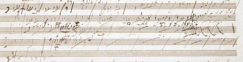 Beethoven Pastoral Sketchbook 5