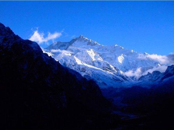 Khanchendzonga sunrise (2)