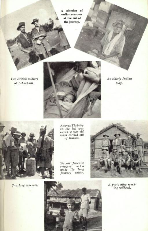 Photos of the evacuation from Burma
