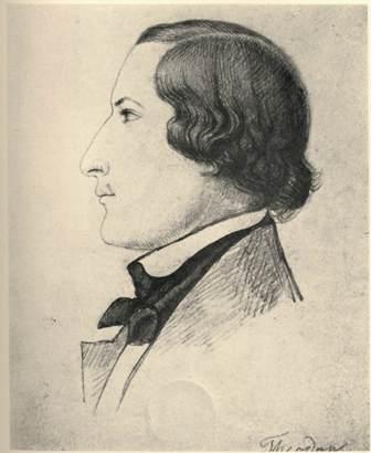 Profile portrait of Theodor Althaus
