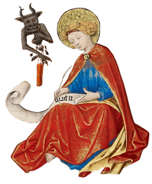 St John and demon
