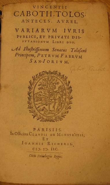 5 Cabot Variarum tp