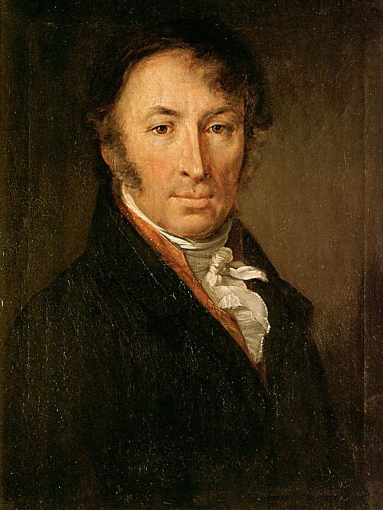 Portrait of Karamzin in 1818