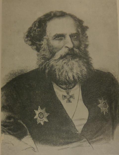 Kazem-Bek portrait X.809-1671