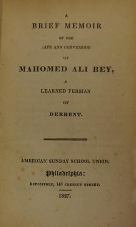 Kazem-Bek memoir 864.g.43