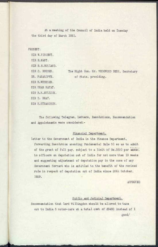 IOR C 121 3 Mar 1931