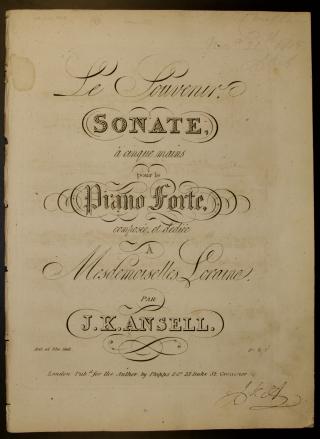 Ansell piano 5 hands sonata tp