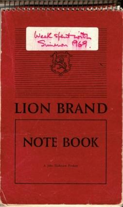 Blog 1 Simenon notebook cover 2