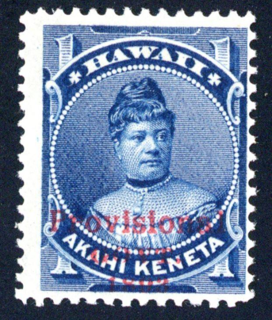 Princess Likelike- portrait on stamp