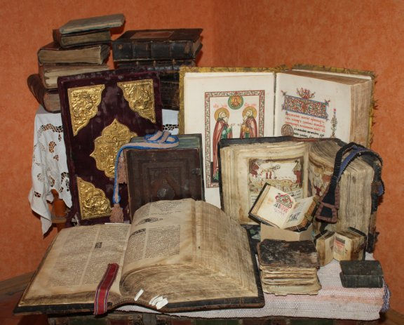 Selection of manuscripts.