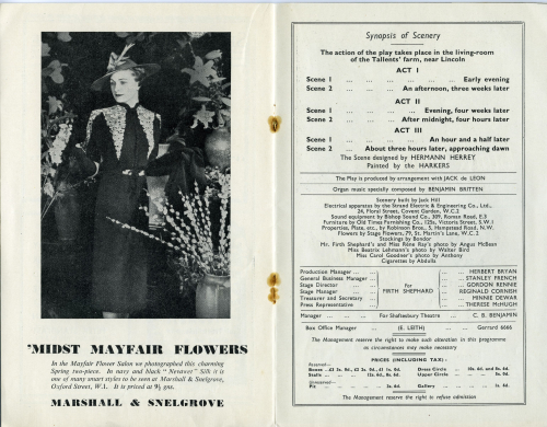 Programme synopsis