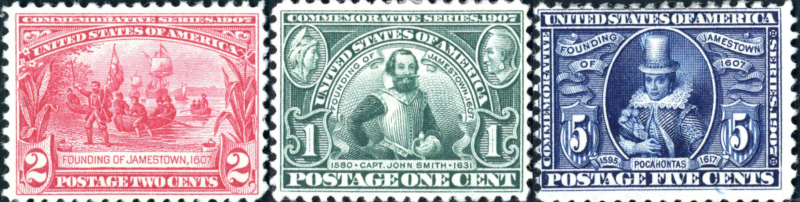 Jamestown Exposition Stamps