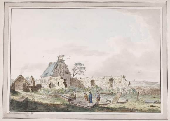 The ruins of Killaru, Islay (1772)