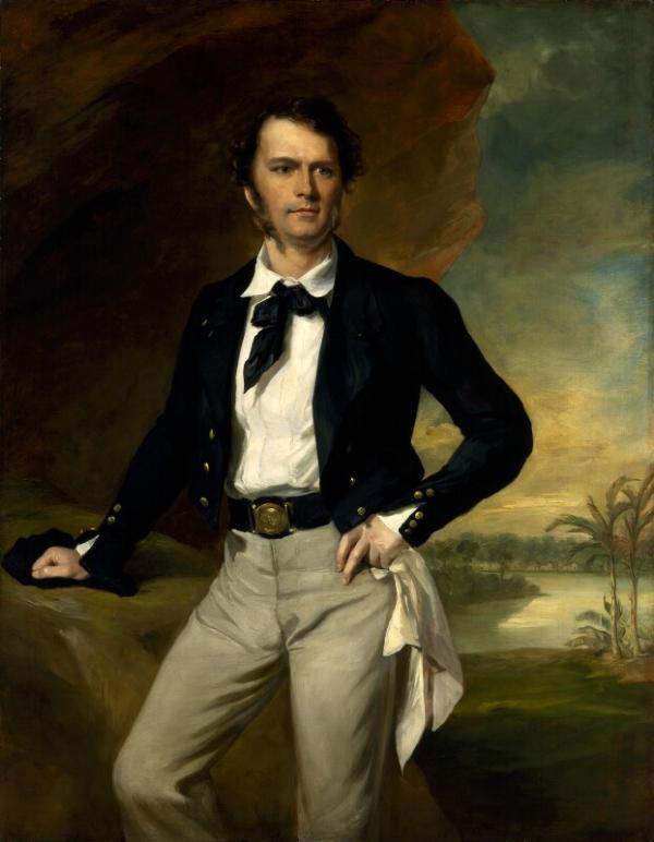 Portrait of James Brooke