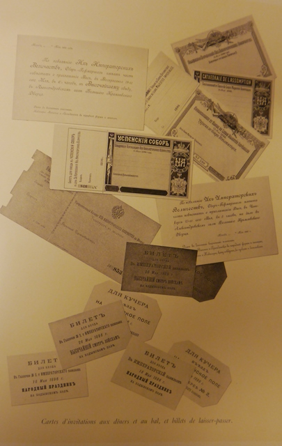 Coronation Album cards and tickets