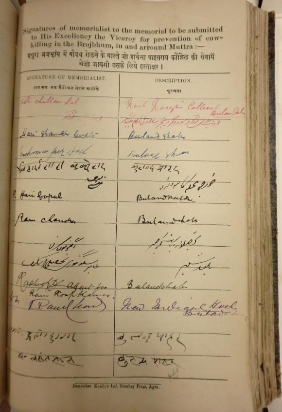 Bhalchandra Krishna Petition signatures