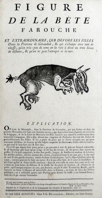 Bete farouche X.319-4064