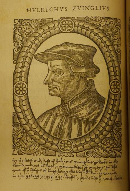 Reformation Zwingli portrait