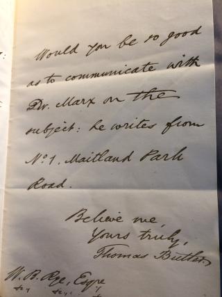 Butler letter 3
