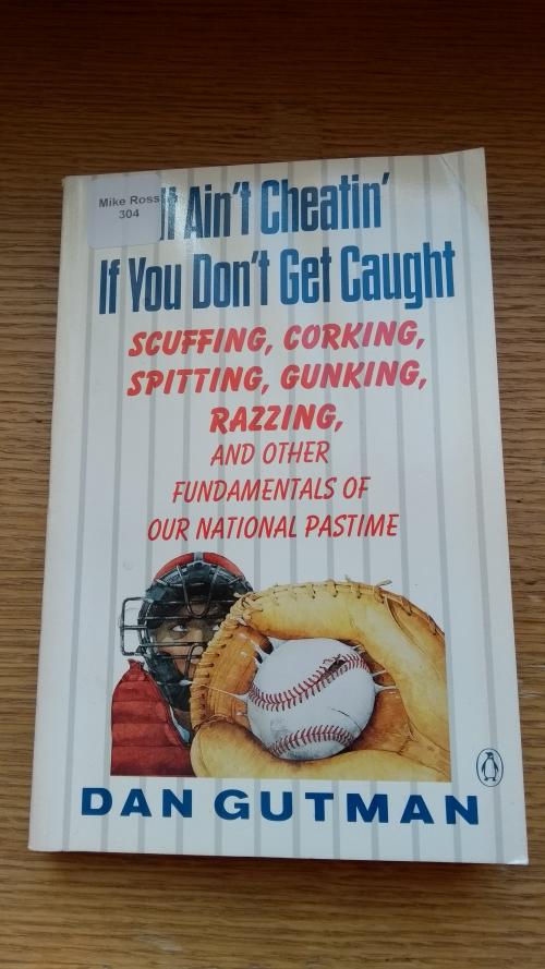 Baseball ain't cheatin