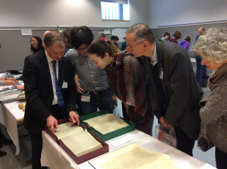 Music Doctoral Open Day 2017 manuscripts show and tell