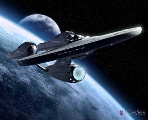 Image of Enterprise Star Ship