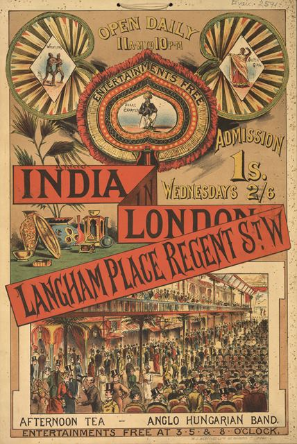 Item 28 Evan.2591 India in London