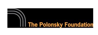 The Polonsky Foundation logo.