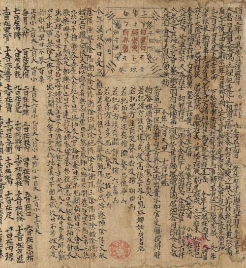 Fig. 2 Chinese almanac