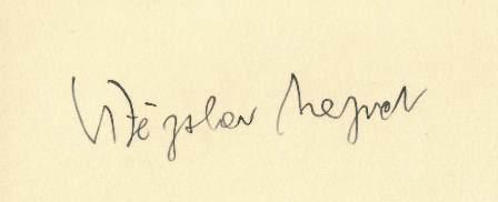 Nezval signature
