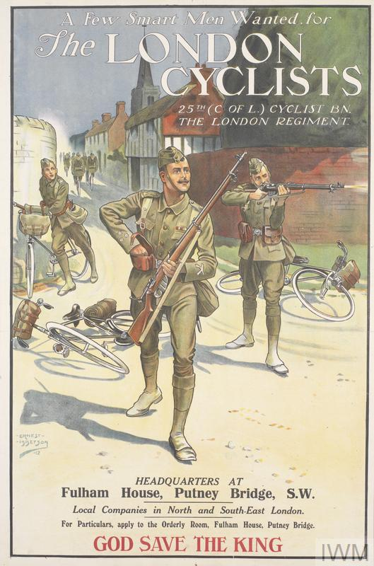 IWM London Cyclists