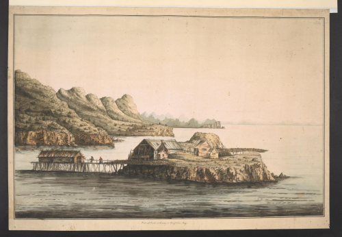 watercolour View of Conception Bay, Newfoundland