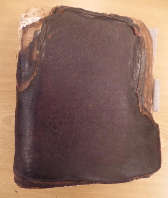 Charlotte Canning's burnt diary, Jun-Dec 1857