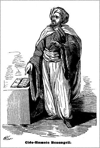 Imaginary portrait of Cide Hamete Benengeli